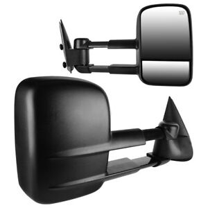 Towing Mirrors Chevy Silverado 1500 2500 3500 2003 2006 Side View Mirrors