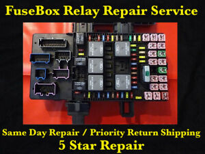 Ford Expedition Lincoln Navigator 2003 2006 Fuse Box Fuel Pump Relay Repair