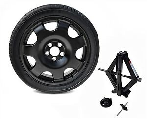 2015 Thru 2018 Mustang V6 Gt Spare Wheel Tire Donut 18 With Jack Kit