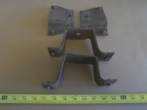 Bed Mount Frame Brackets For 60 66 Chevy Gmc Truck C 10 C 20 Short Bed Swb