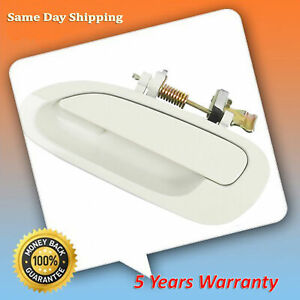 For 1998 2002 Honda Accord Nh578 Taffeta White Rear Left Outside Door Handle New
