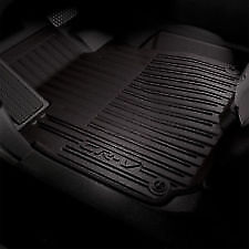 Honda Oem 17 19 Cr V High Wall All Black Season Floor Mat Set 08p17 Tla 110