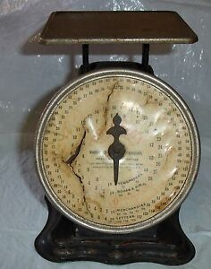 Antique Triner Postal Scale 1pat 906 Dial Letters Newspapeers Books Merchandise