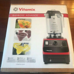 Vitamix 5085 Barboss Advance 32 ounce Blender With 6 Programs Red New