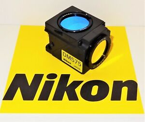 Nikon Green G 1a Fluorescent Microscope Filter Cube For E400 600 And Te200 300