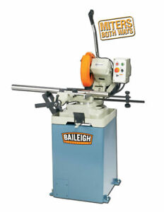 New Baileigh Cs 315eu 12 5 Cold Saw Free Shipping