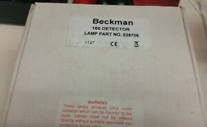 Beckman Coulter System Gold Hplc 166 Or 168 Deuterium Lamp Assembly