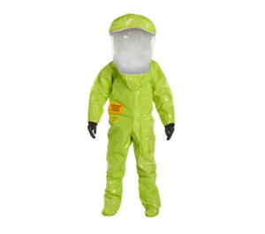 Dupont Tychem Tk Personal Protection Training Suit Lime Yellow 3xl With Bag
