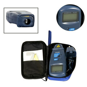 Motorcycle Digital Tachometer Non Contact Test For Speed Measurement Universal