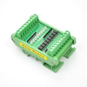 Pnp npn Signal Voltage Conversion 8 channel Optocoupler Isolation Board