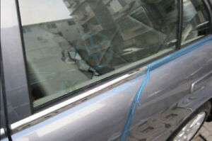 Stainless Silver Bottom Sill Cover Trim 6pcs For Volkswagon Vw Jetta Mk6 2010 13