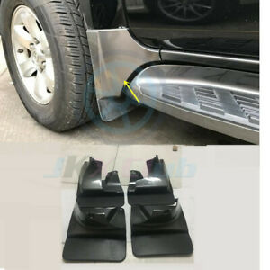 Front Rear Mud Flaps Splash Fender For Toyota Land Cruiser Prado Fj120 2003 2009