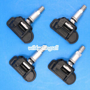 4pcs Oem Tire Pressure Monitor Sensor System Tpms A0035400217 For Mercedes Benz