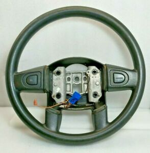 2005 2006 Chevy Equinox Leather Steering Wheel With Cruise Used Oem 05 06