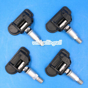 4x Oem Tpms Tire Pressure Monitor Sensors 0009057200 0025408617 For Mercedes