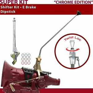 Th400 Shifter Kit 23 E Brake Dipstick For Dcdfb Fits Lokar Auto Trans Bel Air