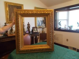 Large Gold Gilt Gesso Quality Frame For Oil On Canvas Paintings 32