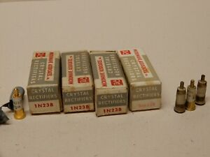 Microwave Diode Lot Of 8 3 Nos 1n23b Ma432r 1n21c Used 3 More Kcx