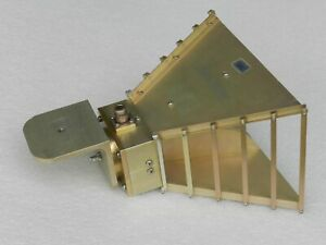 Doubled Ridged Horn Antenna 1 To 18 Ghz Type N 301