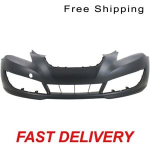 Primed Front Bumper Cover Fits 2010 2012 Hyundai Genesis Coupe Hy1000180
