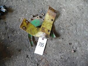 John Deere 3020 Tractor Seat Bracket Left right Back Tag 795