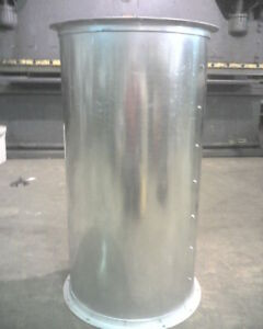 34 Dia 4 Length Spray Paint Booth Exhaust Stack Pipe