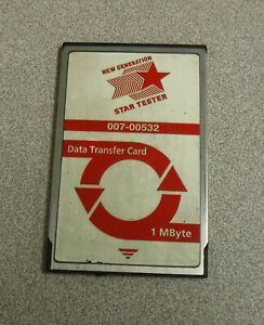 Ford Ngs Tester 007 00532 Data Transfer Card 1 Mbyte Hickok Inc