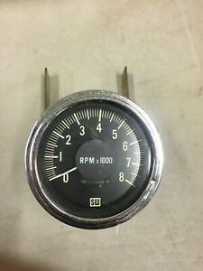 Stewart Warner 8000rpm Vintage Hot Rod Tachometer Original