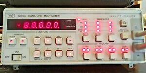 Hp Agilent Keysight 5005a Signature Multimeter Voltage Resistance Frequency