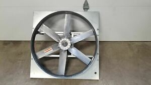 Dayton 10d992 3 4 Hp 1128 Rpm 115 230v 30 In Blade Dia Direct Drive Exhaust Fan