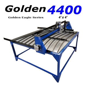 Eagle Plasma 4x4 Cnc Plasma Cutting Table Pro Series W New 15 6 Hp Laptop