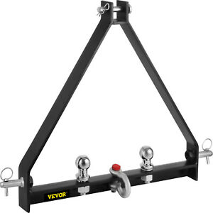 3 Point Bx Trailer Hitch Compact Tractor Drawbar Fully Welded Ag Equipment