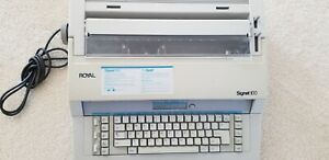 Royal Electric Typewriter Signet 100 Prospell