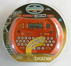 New Brother P touch Household Electronic Labeler Label Maker Handheld Pt 70diy