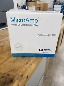 Microamp Optical 96 well Reaction Plate Part Number N801 0560