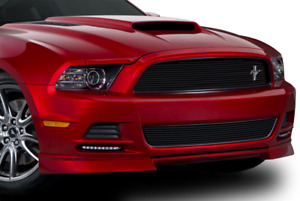 2013 2014 Mustang Upper Billet Grille Black