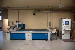 2006 Weeke Optimat Vantage 33 Cnc Router With 4 x10 Table
