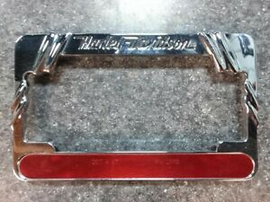 Harley Davidson License Plate Twisted Frame 2