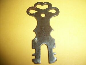 Vintage To Antique Key Very Rare Says On Key Hasco Service
