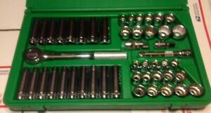 S k 48 Piece 1 2 Dr Socket Set With 1 2 Universal Like New Made In U s a