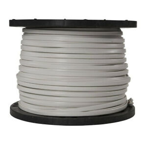 Solid Wire Romex Residential Color Coded Jacket Copper Indoor 1000 Ft 14 3