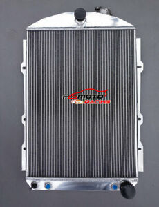 56mm Aluminum Radiator For Chevy Hot Street Rod 350 V8 1938 38 Automatic At
