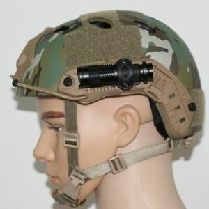 Military Tactical Helmet Light Holder Hunting Airsoft Accessories Tactical  Fast