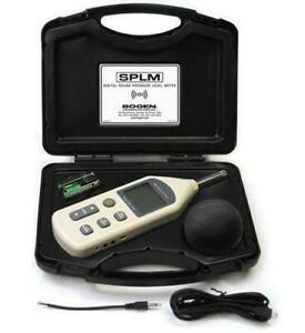 Bogen Digital Sound Pressure Level Meter Splm With Case