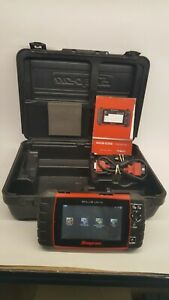 Snap On Solus Ultra Diagnostic Scan Obd2 Tool Eesc318 W Case Software Etc
