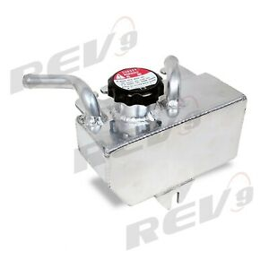 Rev9 Aluminum Coolant Reservoir Expansion Overflow Tank For 08 14 Subaru Wrx