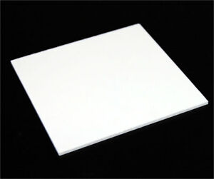 1 8 3mm Solid White Acrylic Plexiglass Sheet Thick 12 x12 White Board