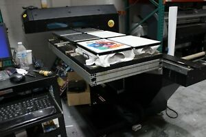 Eagle Dtg 60 Wide Format Flatbed Printer With 6 Shirt Tray