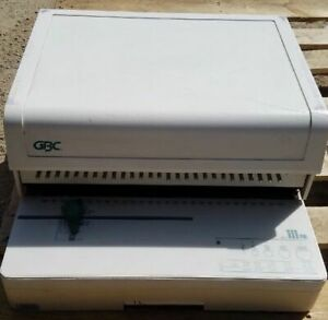 Gbc 110eb 3 Electric Comb Binder And Gbc 111pm 3 Paper Punch 28 Holes 30 Sheets