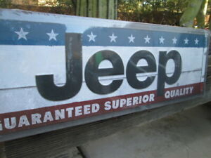 Jeep Large Guaranteed Superior Quality Display Rwb Metal Moab 10 By 30 Rt Hemi